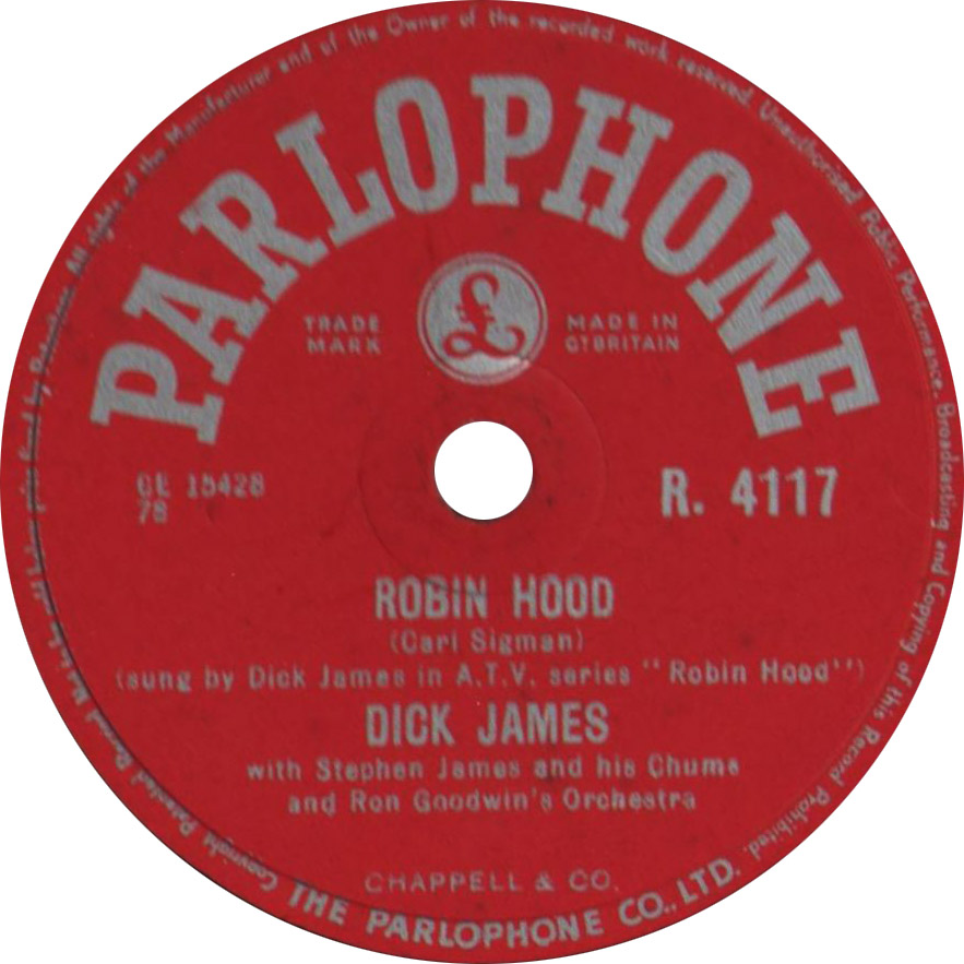 DICK-JAMES-Robin-Hood-78