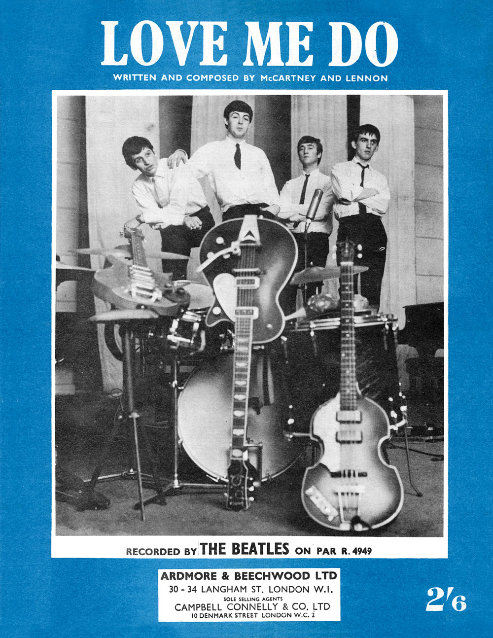 Love Me Like You Do Dvd Blu Ray Oder Vod Leihen: 50 Years Ago: Beatles First Proper Recording Session