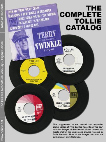 The complete Tollie Catalog
