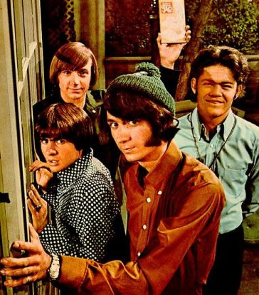 Monkee throws dart at Beatles!