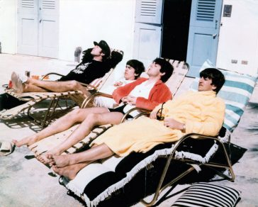 What comedians did the Beatles see in Miami Beach?