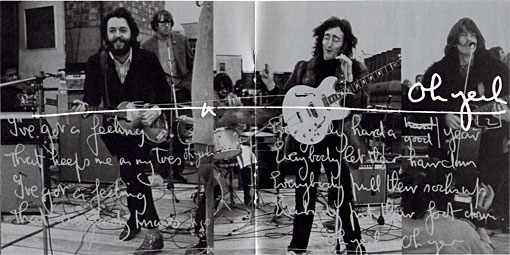 let it be... naked booklet