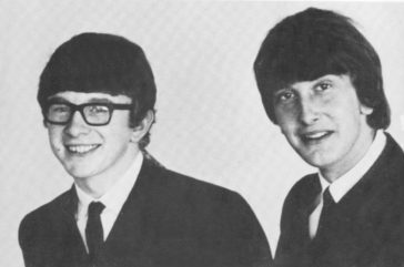 Songs recorded by Peter & Gordon written by Paul?