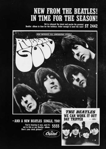 50 Years Ago: A Rubber Soul Christmas to Remember