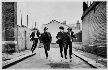 50 Years Ago: FILMING CONTINUES FOR BEATLES FIRST MOVIE