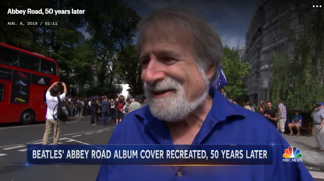 Bruce featured in NBC News story about Abbey Road anniversary