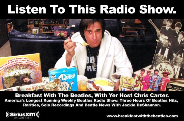 Bruce on Breakfast with the Beatles Sirius/XM
