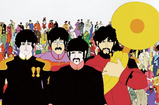 Yellow Submarine Film (Billboard Article)