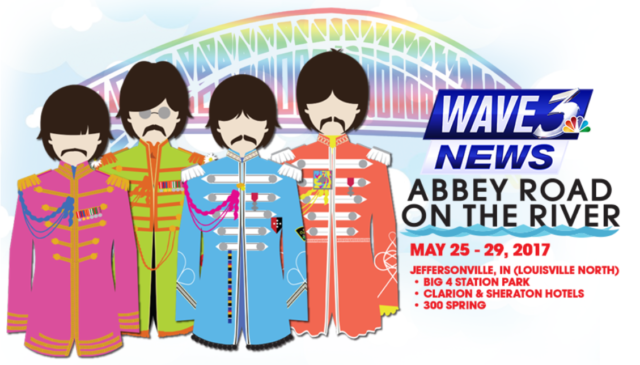 Abbey Road on the River – Jeffersonville, Indiana – May 26-28, 2017