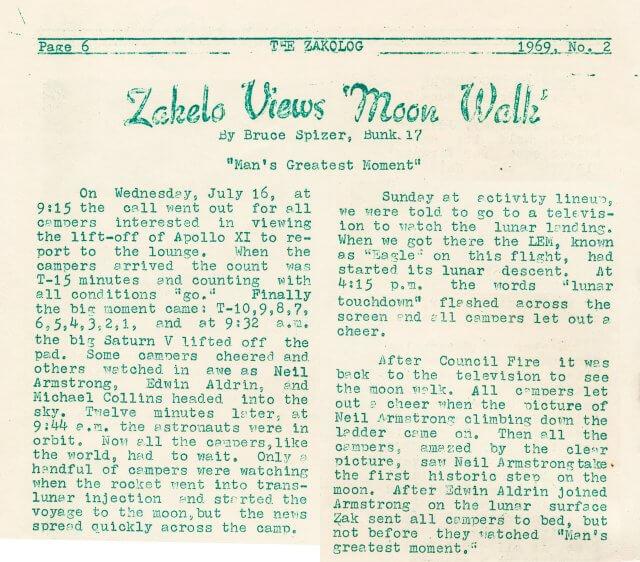 50 Years Ago: Moon Landing