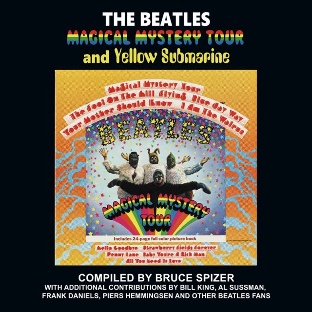 Announcing: The Beatles Magical Mystery Tour and Yellow Submarine Book